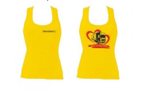 Tílko dámské žluté Aruba - 2005