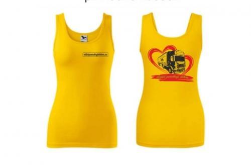 Tílko dámské žluté Triumph - 2007